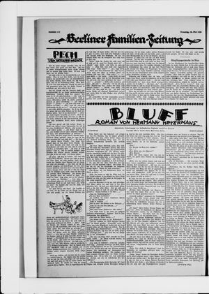 Berliner Volkszeitung vom 18.05.1926