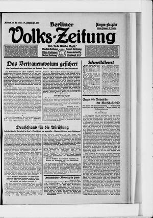 Berliner Volkszeitung vom 19.05.1926