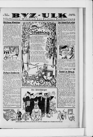 Berliner Volkszeitung vom 22.05.1926