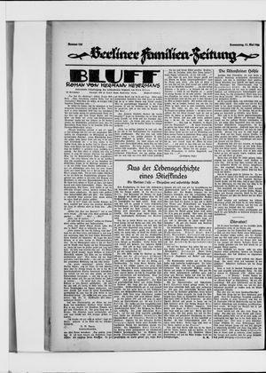 Berliner Volkszeitung vom 27.05.1926