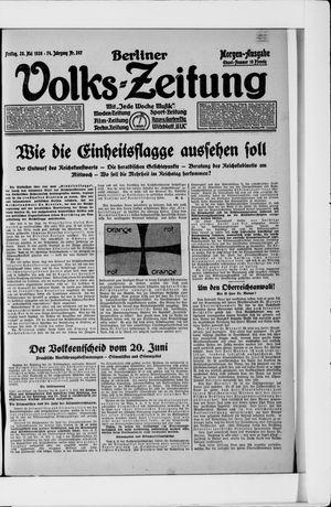 Berliner Volkszeitung vom 28.05.1926