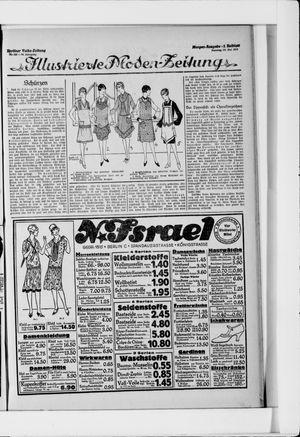 Berliner Volkszeitung vom 30.05.1926