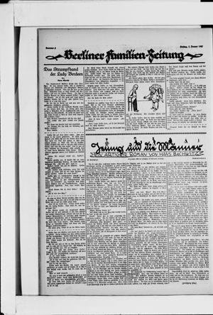 Berliner Volkszeitung vom 07.01.1927