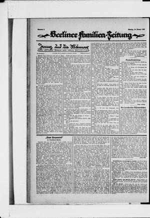 Berliner Volkszeitung vom 10.01.1927