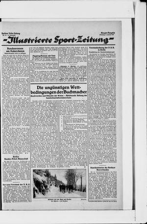 Berliner Volkszeitung vom 11.01.1927
