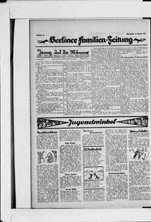Berliner Volkszeitung vom 15.01.1927