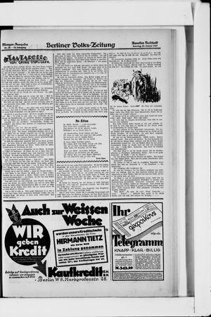 Berliner Volkszeitung on Jan 23, 1927