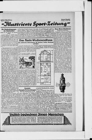 Berliner Volkszeitung vom 01.02.1927