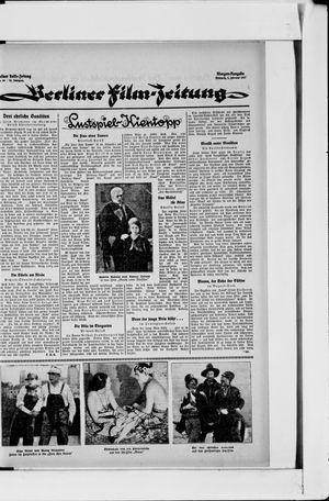 Berliner Volkszeitung vom 02.02.1927