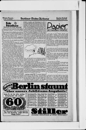 Berliner Volkszeitung vom 06.02.1927