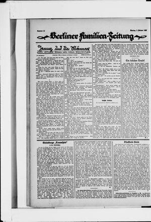 Berliner Volkszeitung vom 07.02.1927