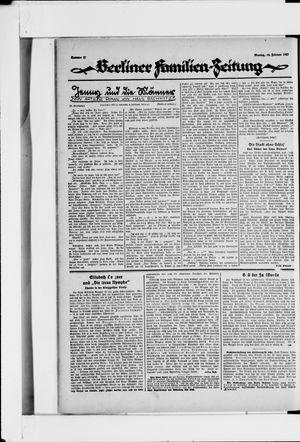Berliner Volkszeitung vom 14.02.1927