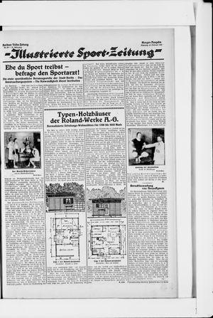 Berliner Volkszeitung vom 22.02.1927