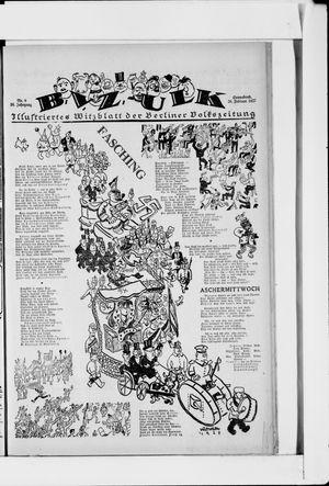 Berliner Volkszeitung vom 26.02.1927