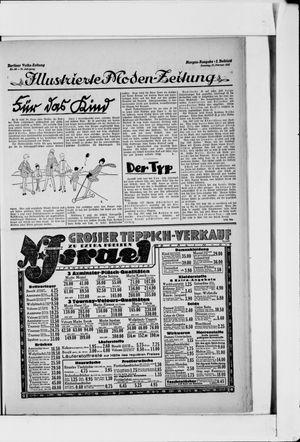 Berliner Volkszeitung vom 27.02.1927