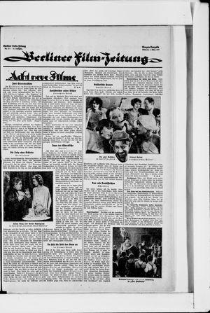 Berliner Volkszeitung vom 09.03.1927