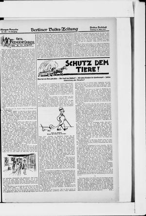 Berliner Volkszeitung vom 13.03.1927