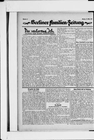 Berliner Volkszeitung vom 21.03.1927