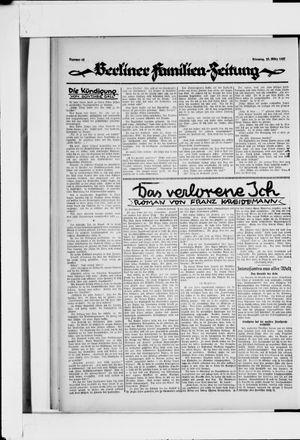 Berliner Volkszeitung vom 22.03.1927