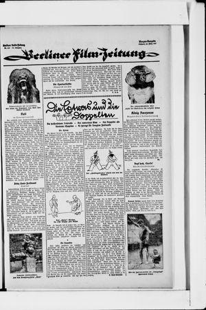 Berliner Volkszeitung vom 23.03.1927