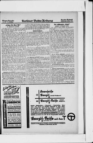 Berliner Volkszeitung vom 24.03.1927