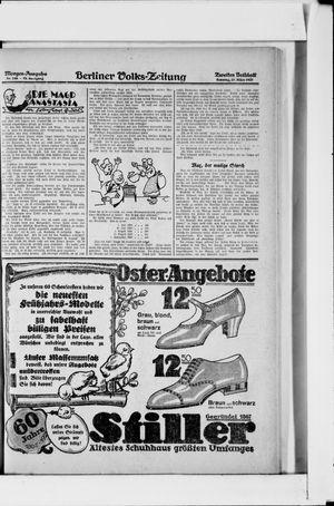 Berliner Volkszeitung vom 27.03.1927