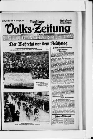 Berliner Volkszeitung vom 28.03.1927