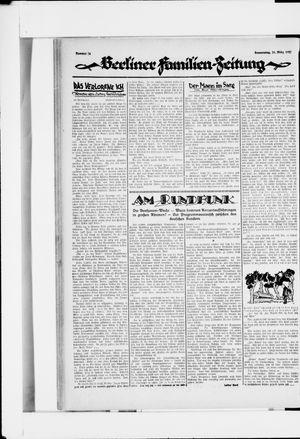 Berliner Volkszeitung vom 31.03.1927