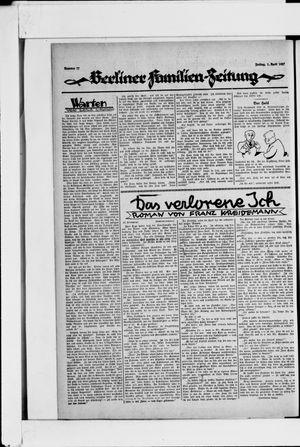 Berliner Volkszeitung vom 01.04.1927