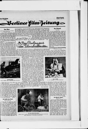 Berliner Volkszeitung vom 06.04.1927