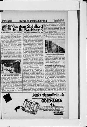 Berliner Volkszeitung vom 10.04.1927
