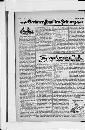 Berliner Volkszeitung vom 22.04.1927