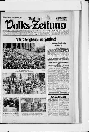 Berliner Volkszeitung on May 2, 1927
