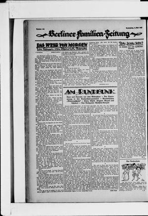 Berliner Volkszeitung on May 5, 1927