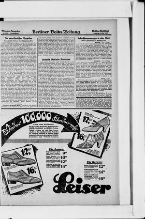 Berliner Volkszeitung vom 08.05.1927