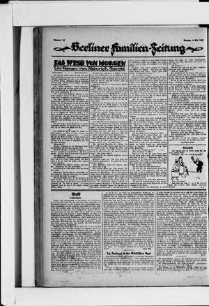 Berliner Volkszeitung vom 09.05.1927