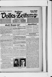 Berliner Volkszeitung (18.10.1927)