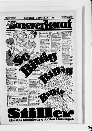 Berliner Volkszeitung vom 01.01.1928
