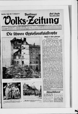 Berliner Volkszeitung vom 05.01.1928