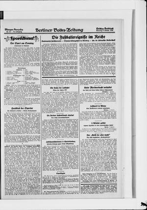 Berliner Volkszeitung vom 08.01.1928