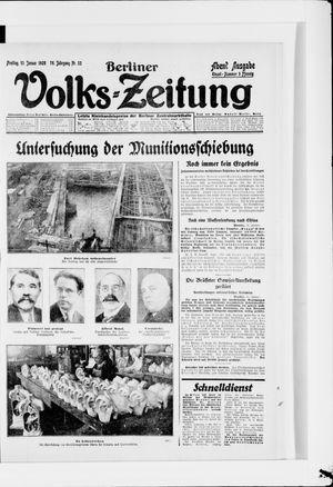 Berliner Volkszeitung vom 13.01.1928