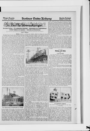 Berliner Volkszeitung on Jan 15, 1928