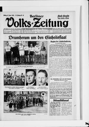 Berliner Volkszeitung on Jan 16, 1928