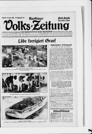 Berliner Volkszeitung vom 28.01.1928
