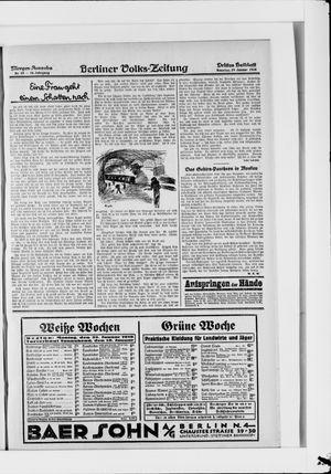 Berliner Volkszeitung vom 29.01.1928