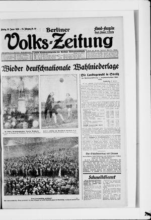 Berliner Volkszeitung vom 30.01.1928