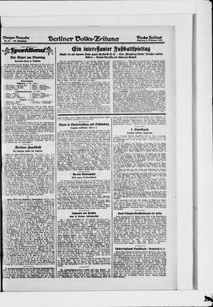 Berliner Volkszeitung vom 05.02.1928
