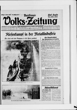 Berliner Volkszeitung vom 13.02.1928