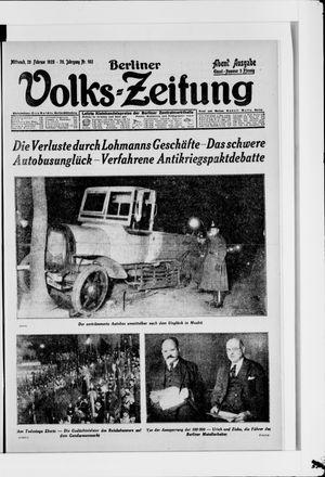 Berliner Volkszeitung vom 29.02.1928
