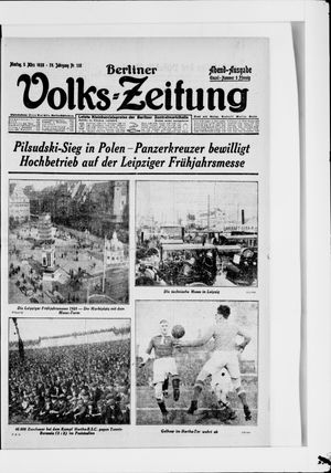 Berliner Volkszeitung vom 05.03.1928